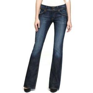 Hudson Bootcut Dark Wash Blue Stretch Jeans